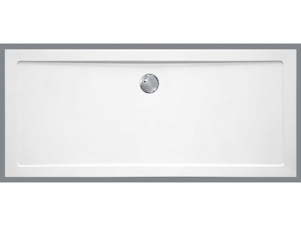 Sanotechnik sprchová vanička, SMC tvrdený polymér, obdĺžnik, 90x140cm, SC1490S (Nožičky S nožičkami (15ks))