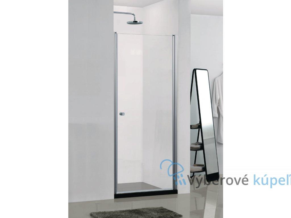 4250 sanotechnik elegance sprchove dvere sirka 90cm otvarave celokridlove n1490