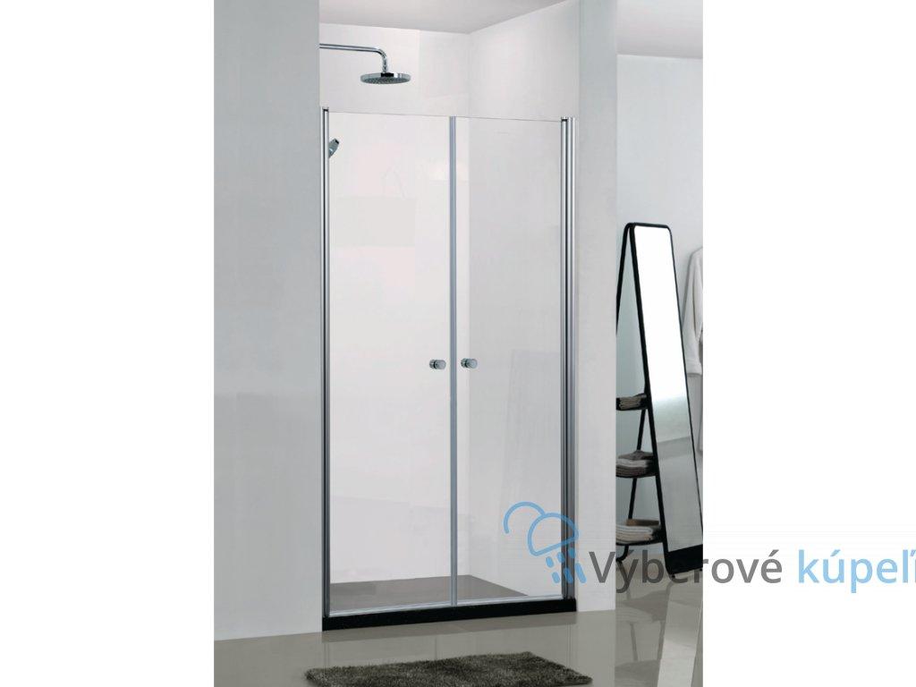 4256 sanotechnik elegance sprchove dvere sirka 100cm otvarave dvojkridlove n1100
