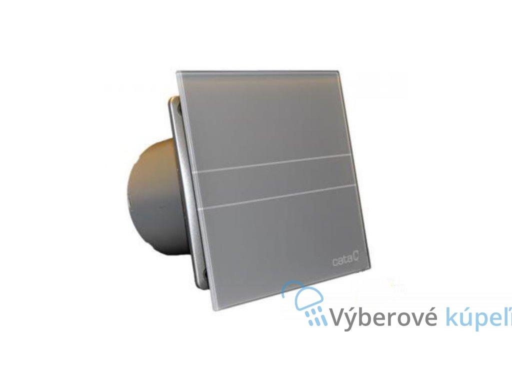 4379 cata e100 gst ventilator do kupelne s casovacom strieborny