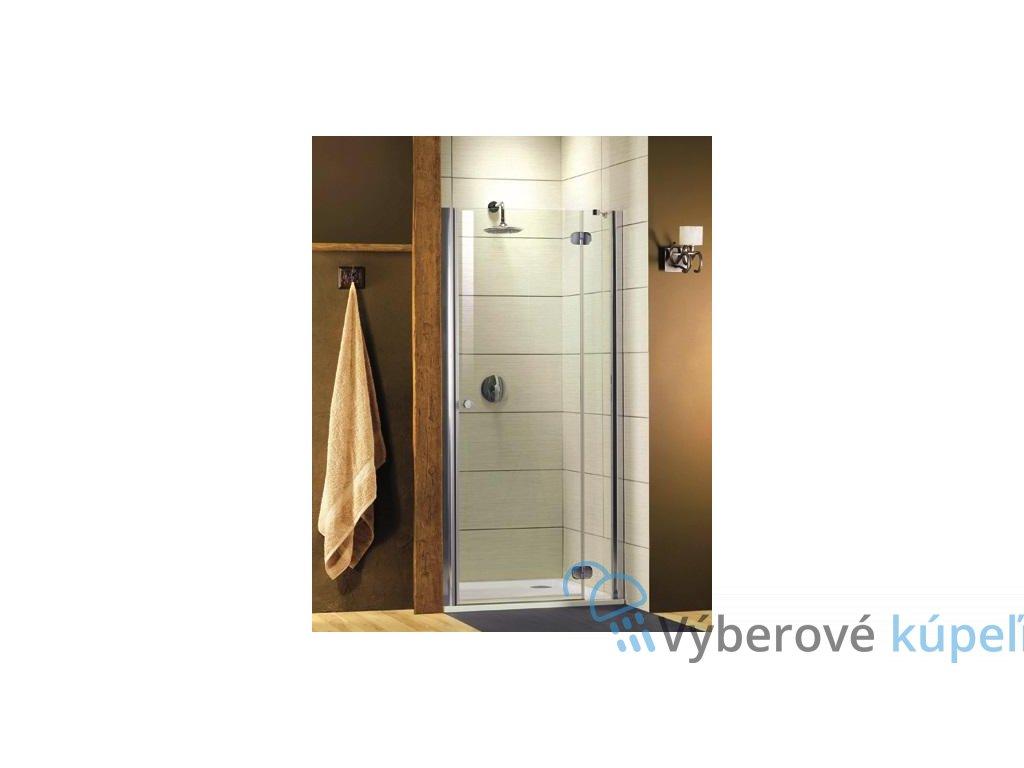Radaway Torrenta DWJ, sprchové dvere, šírka 120cm, otváravé, číre sklo (Umiestnenie dverí Pravé dvere)