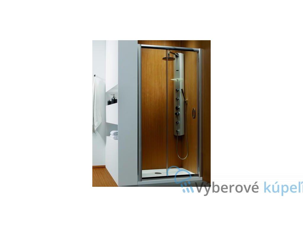 4946 radaway premium plus dwj sprchove dvere sirka 110cm posuvne cire sklo 33302 01 01n