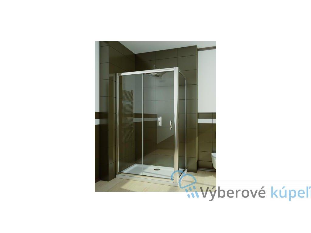 4970 radaway premium plus dwj s obdlznikovy sprchovy kut 100x80cm posuvne dvere cire sklo 33303 01 01n 33413 01 01n