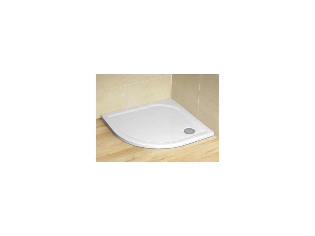 5111 radaway delos a sprchova vanicka akrylat stvrtkruh 90cm sda0909 01
