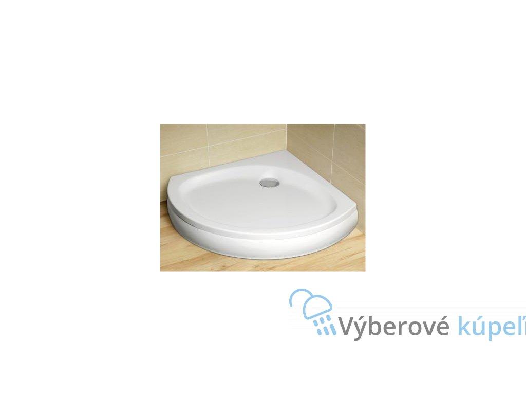 5141 radaway patmos b sprchova vanicka akrylat stvrtkruh 90cm 4t99155 03