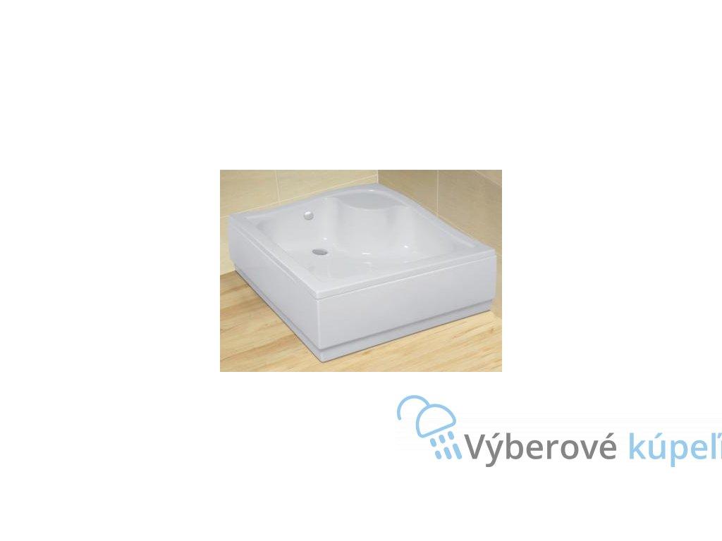 5189 radaway korfu c sprchova vanicka hlboka akrylat stvorec 90cm 4c99400 03