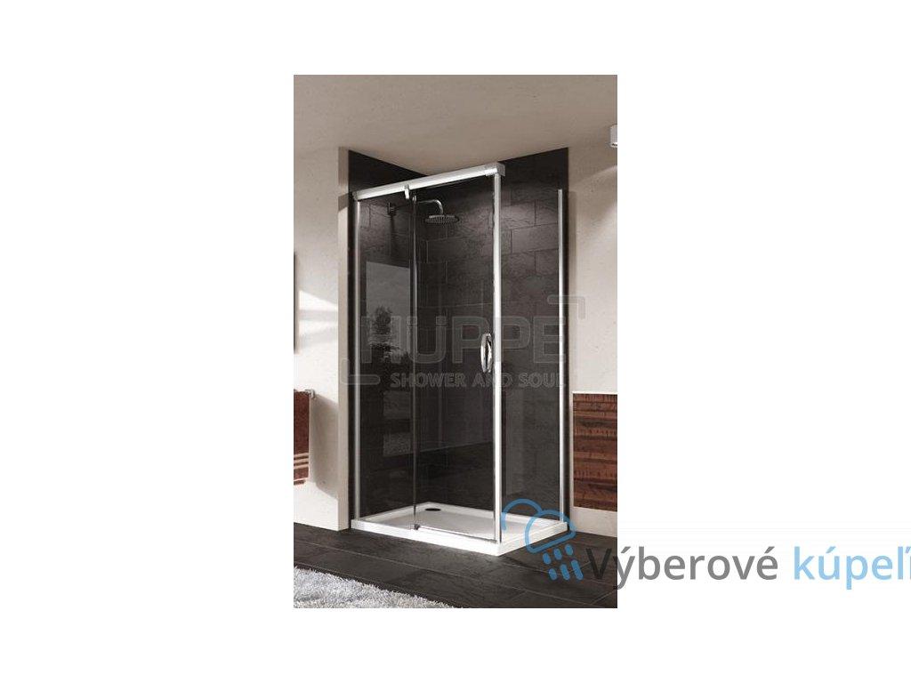 HUPPE Aura obdĺžnikový sprchový kút, 120x90cm, posuvné dvere, 401414092322 + 401607092322 (Umiestnenie dverí Pravé dvere)