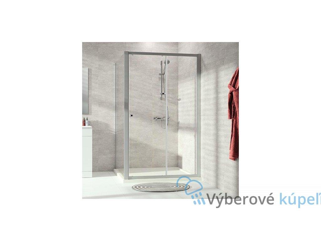 5387 huppe alpha 2 sprchove dvere sirka 120cm posuvne 1 dielne s pevnym segmentom a20402069322