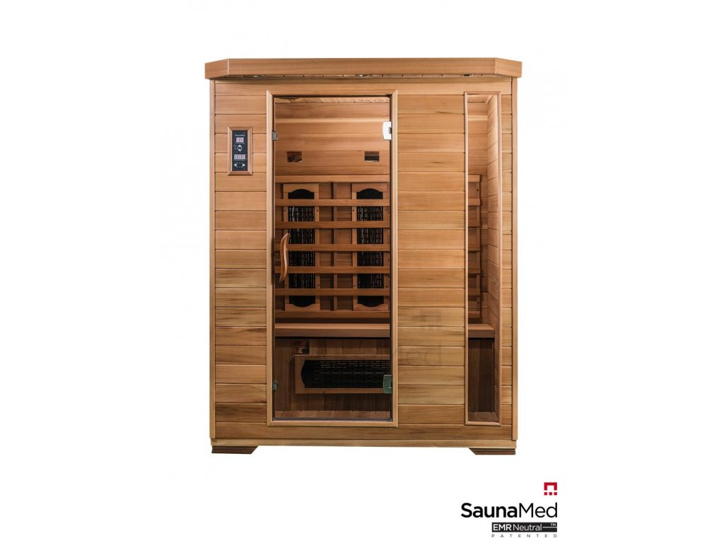5600 infrasauna saunamed luxury pre 3 osoby 150x120cm ismlx3
