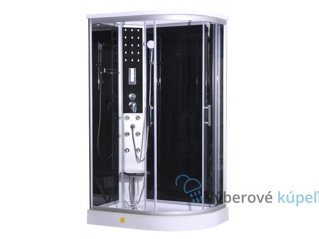 Sanotechnik QuickLine Vario ľavý, sprchový box 120x80x215cm, obdĺžnik CL120