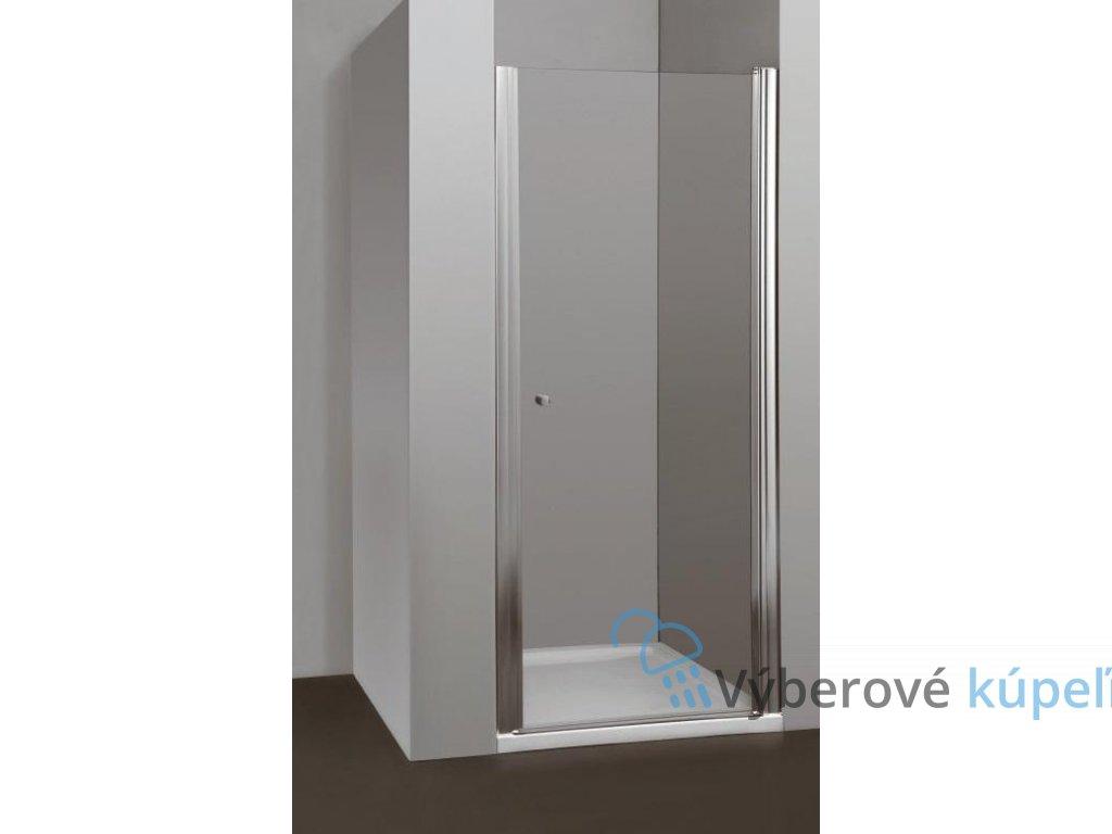 Arttec Moon, sprchové dvere šírka 85cm, otváravé celokrídlové (Farba skla Sklo grape)