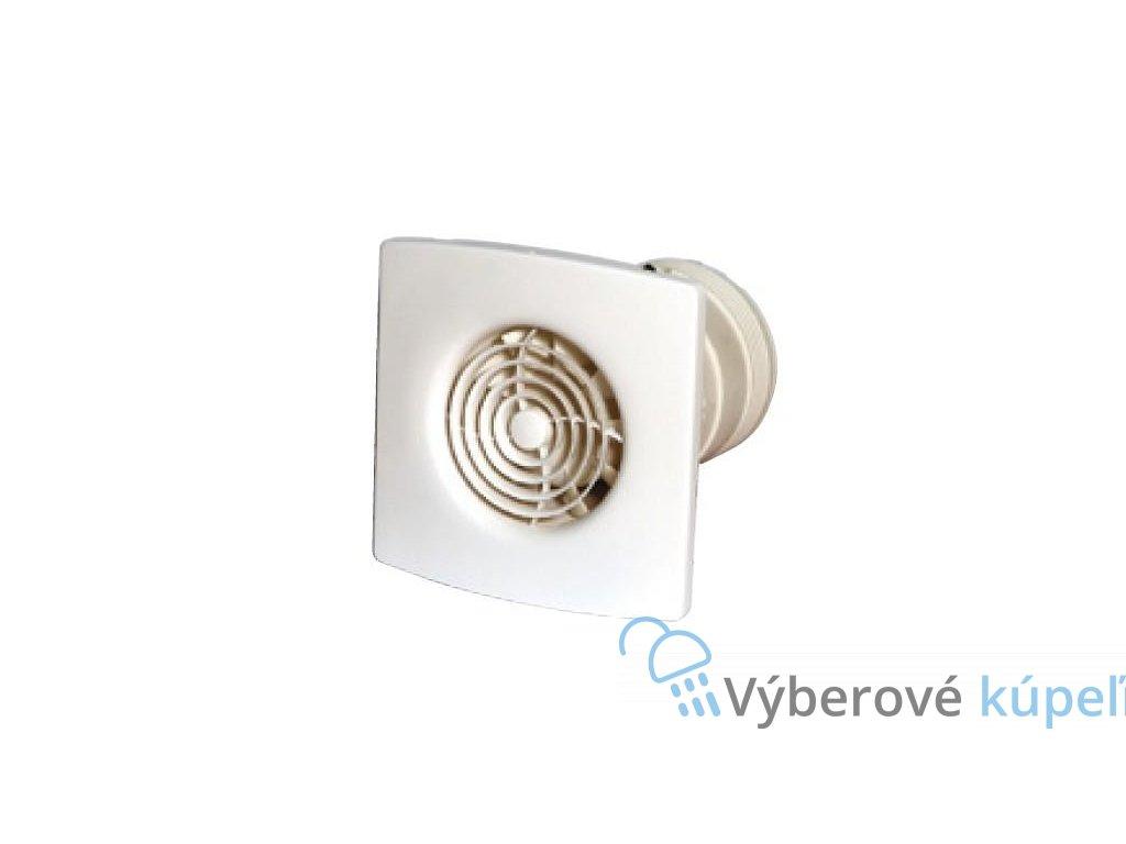 6554 zehnder silent tichy nastenny a stropny ventilator 100 mm s funkciou humidistat a casovacom