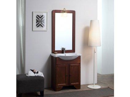 KVstore LAVANDA retro kúpeľňový nábytok 65cm, tmavý