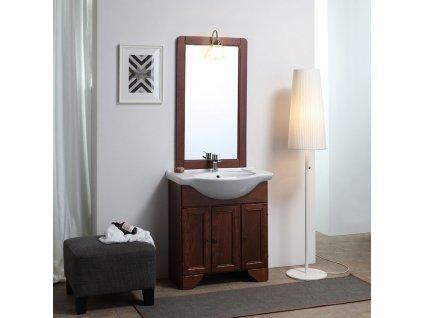 KVstore LAVANDA retro kúpeľňový nábytok 75cm, tmavý