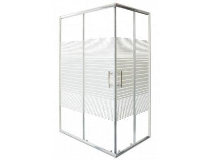 12443 sanotechnik obdlznikovy sprchovy kut 120x80cm posuvne dvere