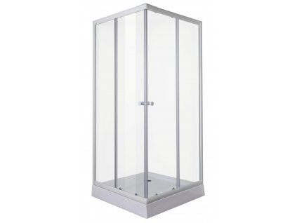 12473 sanotechnik stvorcovy sprchovy kut sirka 80cm posuvne dvere