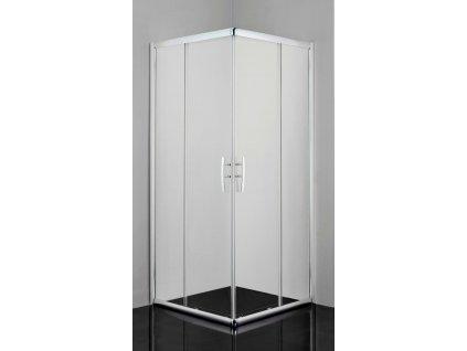 12485 sanotechnik pro line obdlznikovy sprchovy kut 100x80cm posuvne dvere