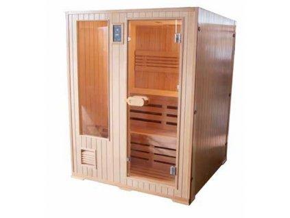 14834 sanotechnik helsinki finska sauna pre 3 osoby 152x152cm