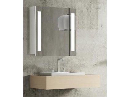 14975 hapa design venedig zrkadlova skrinka 60cm biela s led osvetlenim