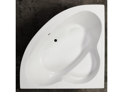 Sanotechnik Menorca rohová akrylátová vaňa 140x140cm