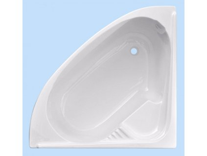 Sanotechnik Firenze rohová akrylátová vaňa 120x120cm (Čelný panel S čelným panelom)