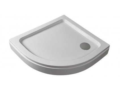 2570 sanotechnik sprchova vanicka akrylat stvrtkruh 80cm so sifonom p28w