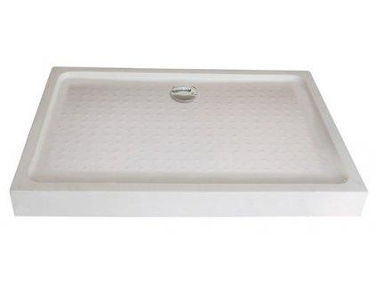 3875 sanotechnik sprchova vanicka akrylat obdlznik 120x80cm so sifonom p128