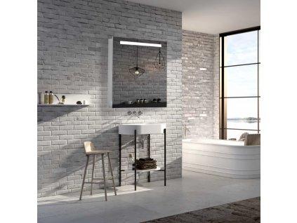 39713 hapa design san marino superflat hlinikova zrkadlova skrinka 60cm biela s led osvetlenim
