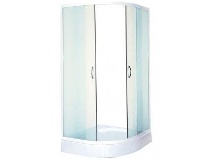39764 sanotechnik stvrtkruhovy sprchovy kut sirka 80cm posuvne dvere