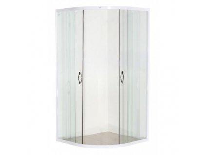39767 sanotechnik stvrtkruhovy sprchovy kut sirka 90cm posuvne dvere