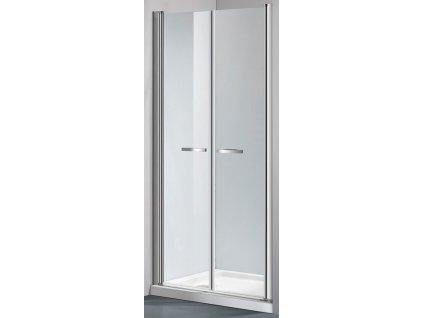 Arttec Comfort, sprchové dvere šírka 75cm, otváravé dvojkrídlové (Farba skla Sklo číre)