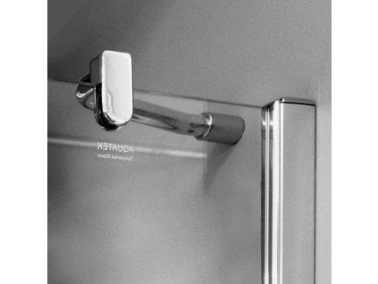 Aquatek Extra A4, štvorcový sprchový kút, šírka 90cm, otváravé dvere (Farba skla Sklo frost)