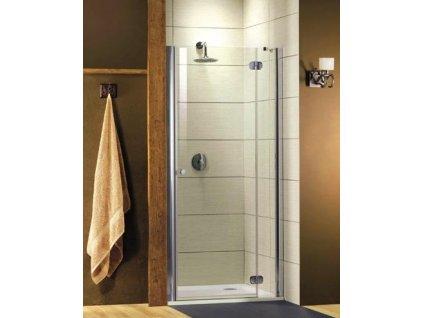 Radaway Torrenta DWJ sprchové dvere, šírka 100cm, otváravé, číre sklo (Umiestnenie dverí Pravé dvere)