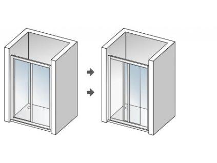 49007 aquatek royal b2 110 sprchove dvere sirka 110cm posuvne