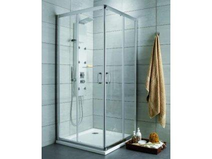4928 radaway premium plus c d stvorcovy sprchovy kut sirka 80cm posuvne dvere cire sklo 30463 01 01n