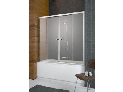 5105 radaway vesta dwd vanova zastena 170x150 cm cire sklo posuvne dvere