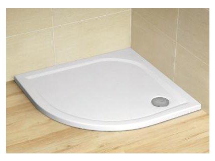 5108 radaway delos a sprchova vanicka akrylat stvrtkruh 80cm sda0808 01