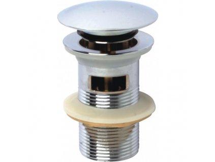 51158 sanotechnik umyvadlovy ventil klick klack s prepadom