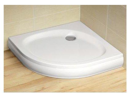 5120 radaway patmos a sprchova vanicka akrylat stvrtkruh 100cm 4s11155 03