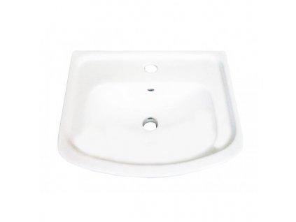 51827 sanotechnik umyvadlo keramicke 45cm na kupelnovu skrinku