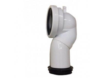 51956 sanotechnik pripojovacie potrubie k wc sanotechnik mono