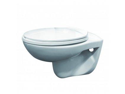 RW4040 Sanotechnik Napoli závesné WC bez splachovacieho okruhu bez sedátka 54x35,5x38,5 cm