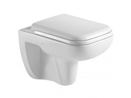 RW5050 Sanotechnik Siena závesné WC bez splachovacieho okruhu so sedátkom 55x35x37,5 cm