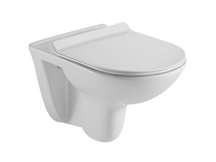 RW6060 Sanotechnik Faro závesné WC bez splachovacieho okruhu so sedátkom 53x35,5x36 cm