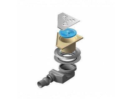 52010 sanotechnik odtokovy zlab sifon angle 2 confluo prietok do 55l min
