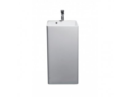 52061 sanotechnik volne stojace umyvadlo z liateho mramoru 45 x 44 5 x 83 cm