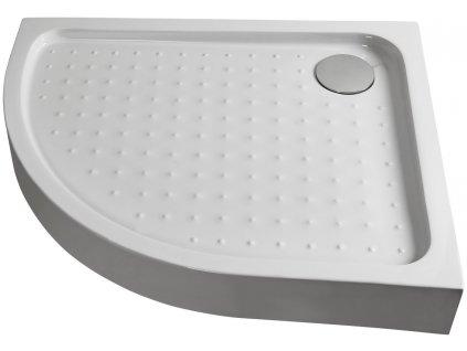 P79R Sanotechnik sprchová vanička, ABS, štvrťkruh, šírka 70x90cm, pravá, pre sprchový kút T790C 02