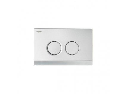SP271 Sanotechnik Teos splachovacie tlačítko biela chróm, pre nádrže Sanotechnik SP114, SP116, SP200