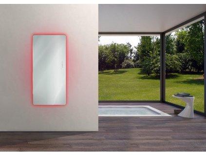 REM100 REM152 Sanotechnik E Rom elektrický radiátor do kúpeľne dizajnový, zrkadlový 02