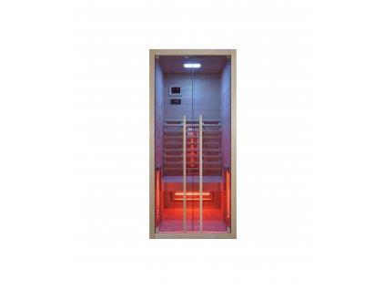 Sanotechnik Ruby 1 infrasauna pre 1 osobu, 90x100cm